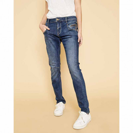 Mos Mosh Jeans, Nelly Favorite, Blue Denim front