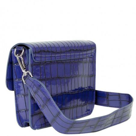 Hvisk Taske, Cayman Pocket, Blue/Black bagside