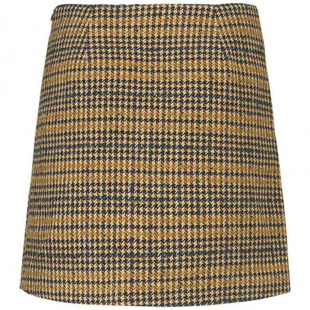 Modström Nederdel, Suko, Yellow Check bagside