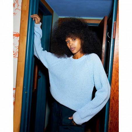 Mads Nørgaard Strik, Ketty, Light Blue Melange model