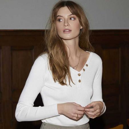 Minus Bluse, Jolan, Broken White model