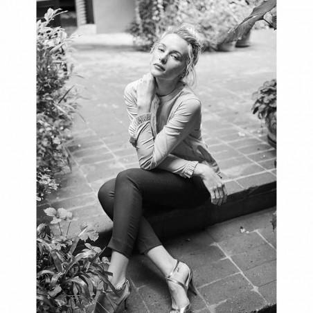 Mos Mosh Skjorte, Mattie Stripe, Coffee Bean model