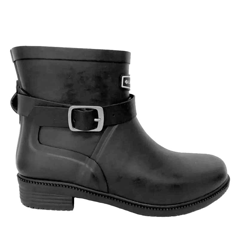 Lacrosse gummistøvler, welly fashion buckle, black fra lacrosse på superlove