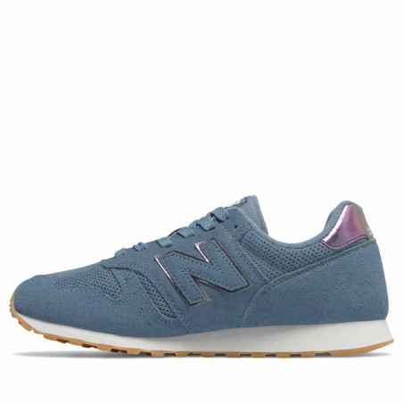 New Balance Sneakers, WL373, Blue - Siden