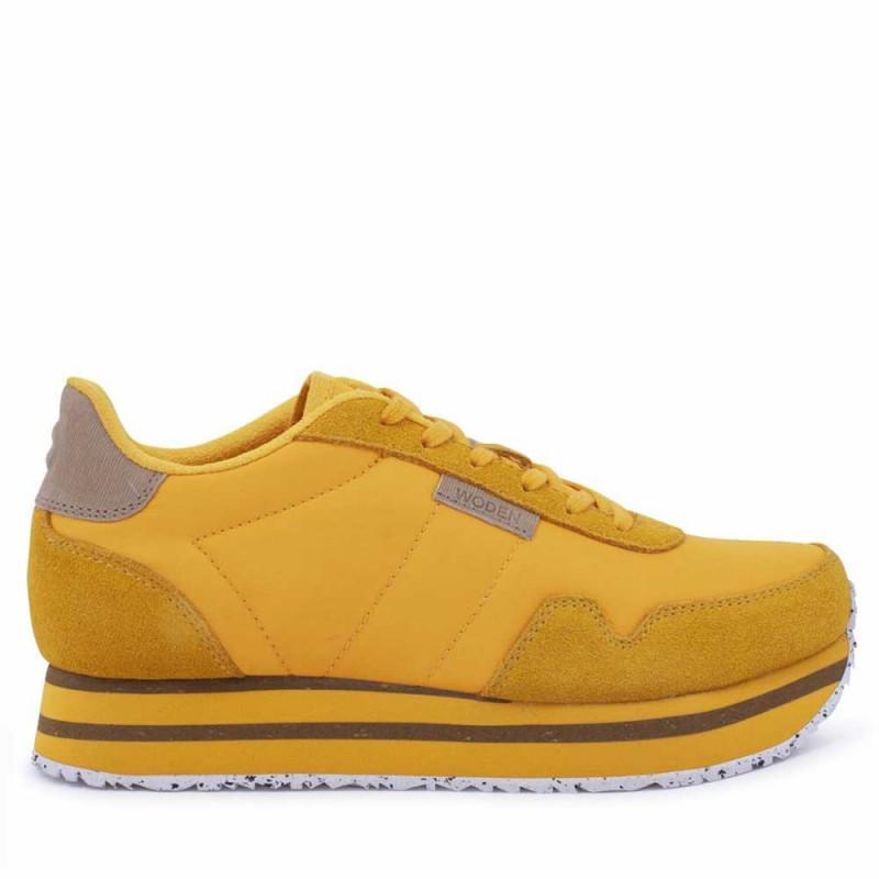 Woden Sneakers, Nora II Plateau, Mango