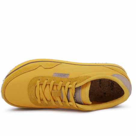 Woden Sneakers, Nora II Plateau, Mango - Indvendig