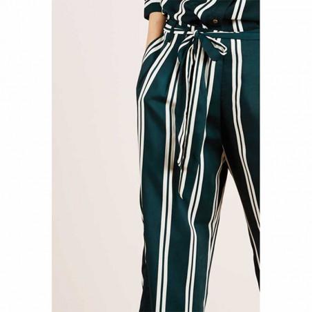 Lollys Laundry Bukser, Aila, Stripe - Detalje