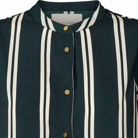 Lollys Laundry Skjorte, Amalie, Stripe - Detalje