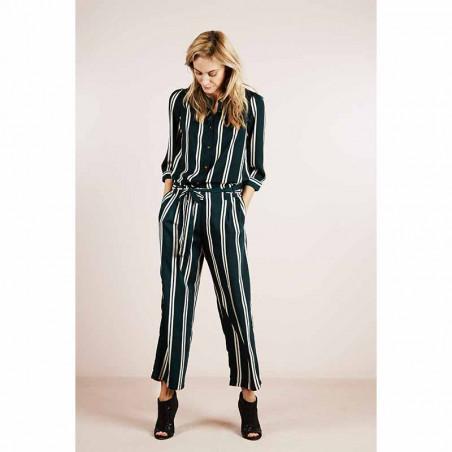 Lollys Laundry Skjorte, Amalie, Stripe - Model