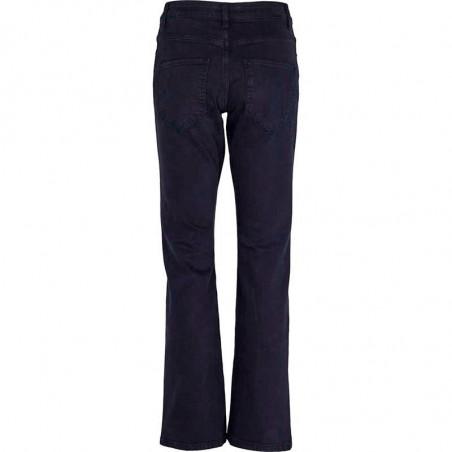 Basic Apparel Jeans, Etta, Dark Navy bagside