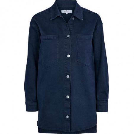 Basic Apparel Skjorte, Etta, Dark Navy