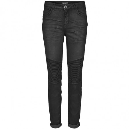 Mos Mosh Jeans, Ozzy Coated, Dark Grey