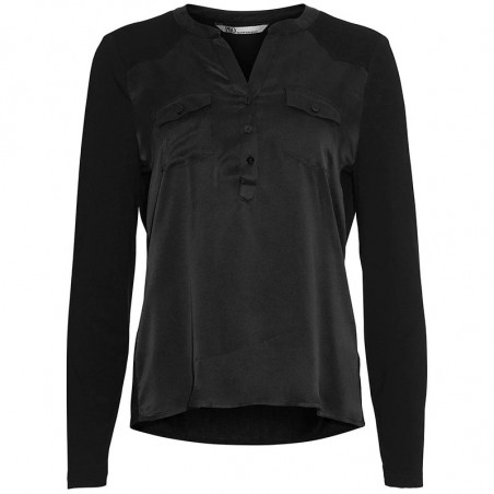 PBO Bluse, Middleton, Black
