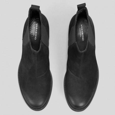 Vagabond Støvler, Cary Chelsea, Black ovenfra