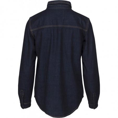 Minus Skjorte, Lau, Dark Denim - Bagside