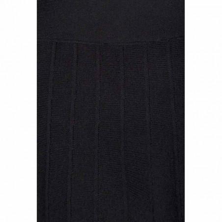 Minus Nederdel, Sola, Black - Detalje