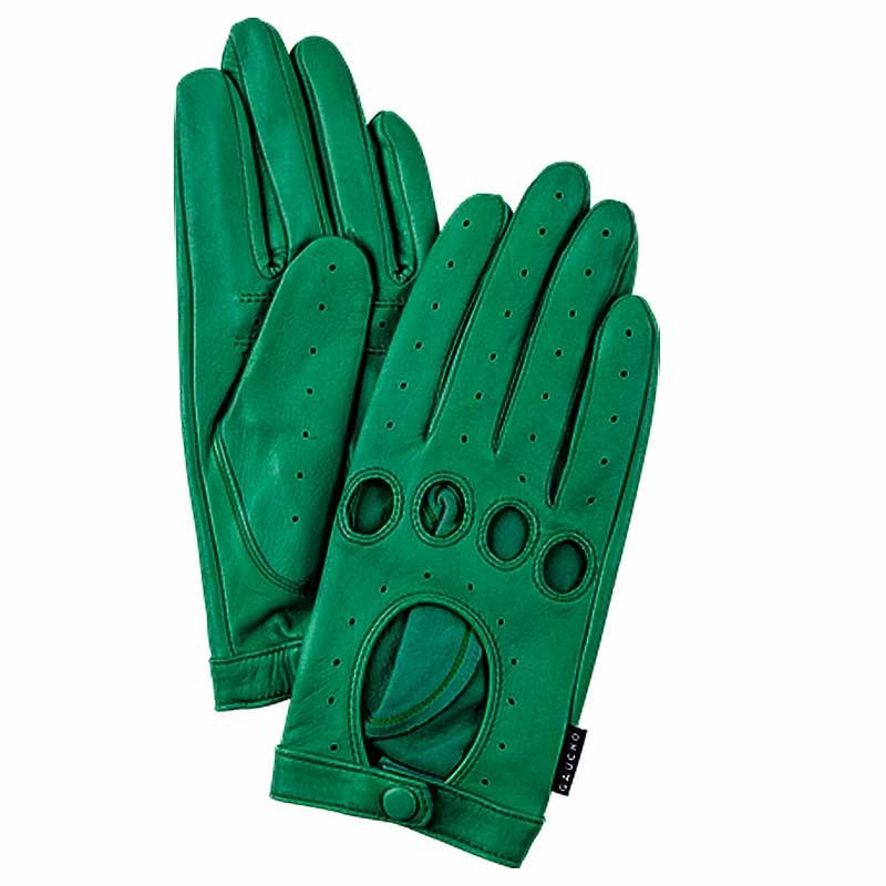 gaucho Gaucho handsker, ladies drivers, emerald på superlove
