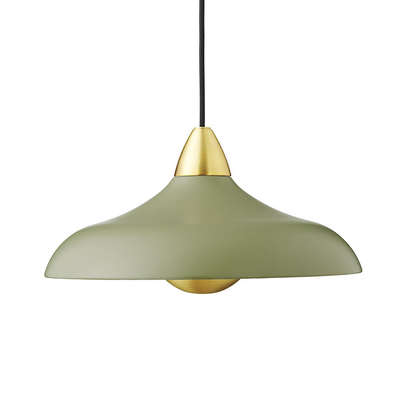 superliving Superliving lampe, urban wide, olive på superlove