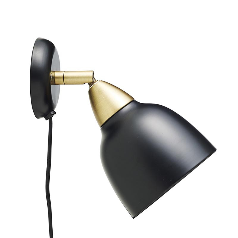 Superliving Lampe, Urban Short Wall, Mat Real Black
