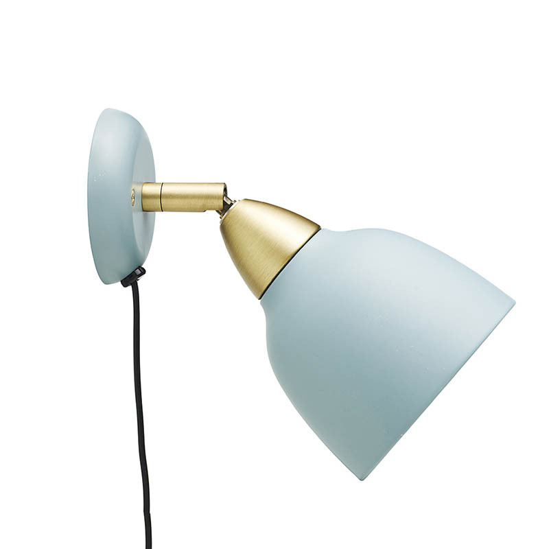 Superliving lampe, urban short wall, mineral blue fra superliving fra superlove