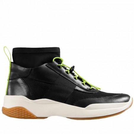 Vagabond Sneakers, Lexy, Black/Neon