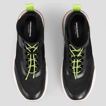 Vagabond Sneakers, Lexy, Black/Neon - Detalje