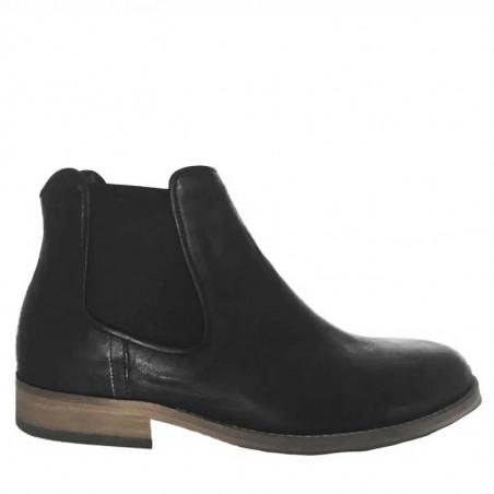 Mentor Vinterstøvler, Chelsea, Black Leather