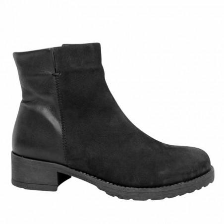 LBDK Vinterstøvler T3535, Black Oxide/Leather