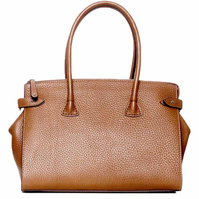 Image of   Decadent Taske, Scarlet Small Shopper, Cognac