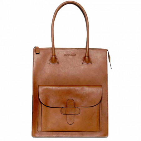 Decadent Taske, Rina Working Bag, Cognac, Decadent Copenhagen, Decadent working bag