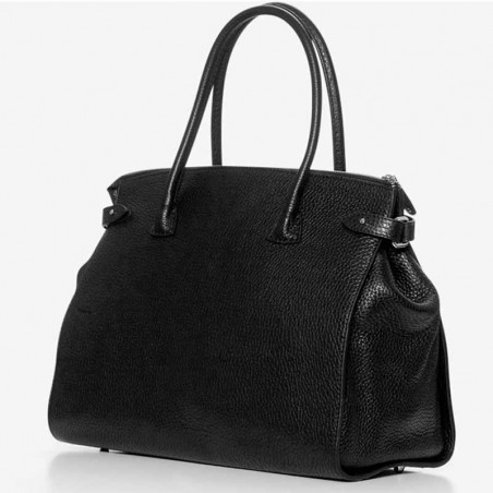 Decadent Taske, Meryl Big Shopper, Black, Decadent Copenhagen, Decadent shopper, Decadent big shopper side