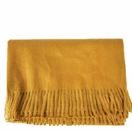 ReDesigned By Dixie Tørklæde, Edla, Mustard, tørklæde dame, stort tørklæde