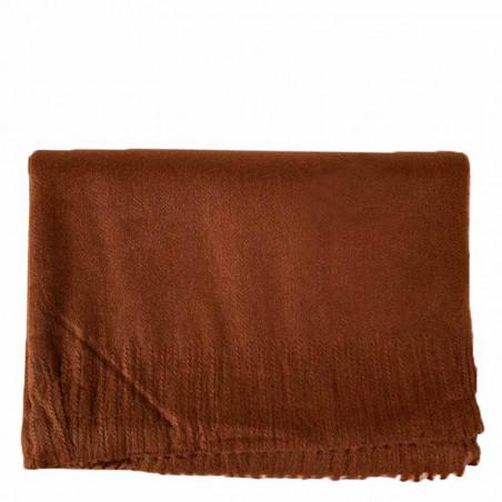 ReDesigned By Dixie Tørklæde, Edla, Brown, tørklæde dame, stort tørklæde