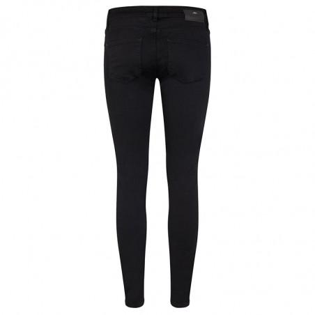 Mos Mosh Jeans, Sumner Silk, Black - Bagside