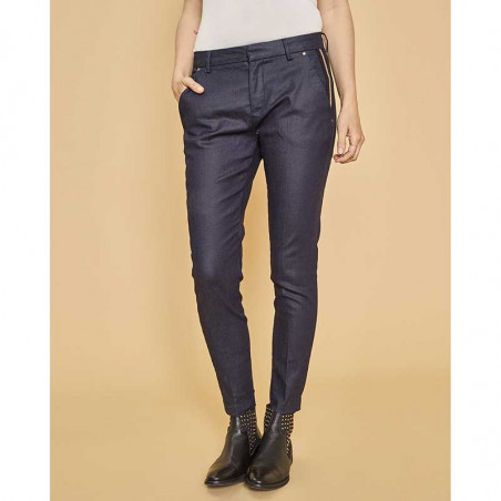 Mos Mosh Jeans, Blake Gallery, Dark Blue - Model