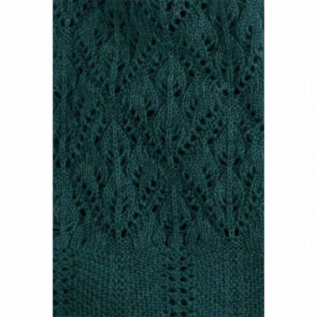 King Louie Tørklæde, Moritz, Pine Green detalje