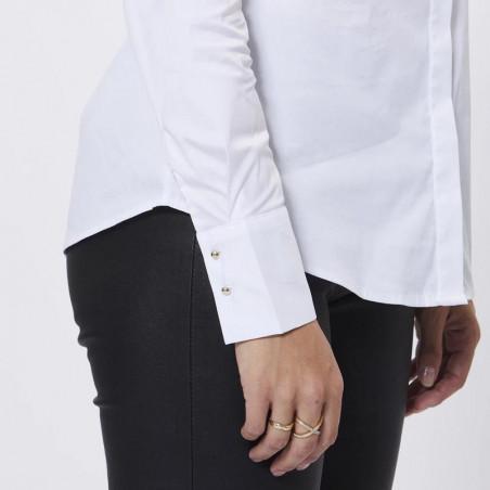 PBO Skjorte, Meghan, White detalje