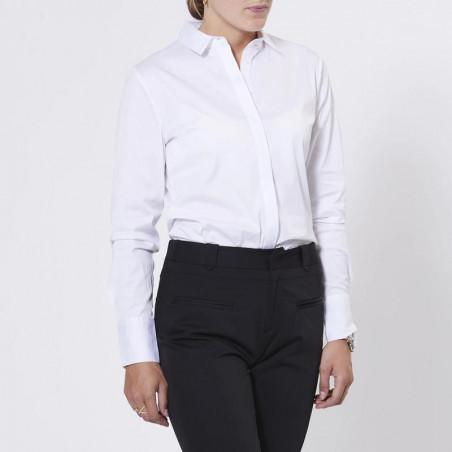 Klassisk skjorte fra PBO  Meghan i hvid
