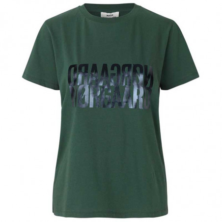 Mads Nørgaard T-shirt dame, Trenda, Army/Blue, Mads Nørgaard T shirt dame