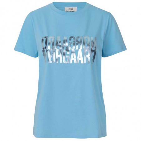 Mads Nørgaard T-shirt dame, Trenda, Light Blue, Mads Nørgaard T shirt dame