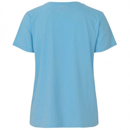 Mads Nørgaard T-shirt dame, Trenda, Light Blue, Mads Nørgaard T shirt dame bagside