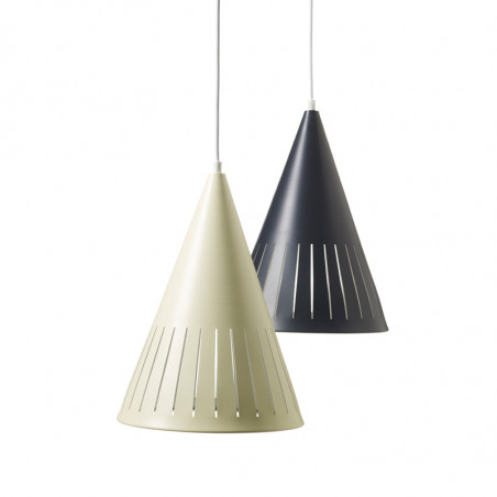 Superliving, Victory Lampe, Creme og sort