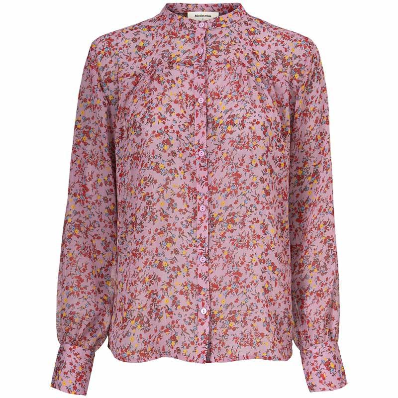 Modström Skjorte, Vogue, Winter Bloom, Modstrøm skjorte
