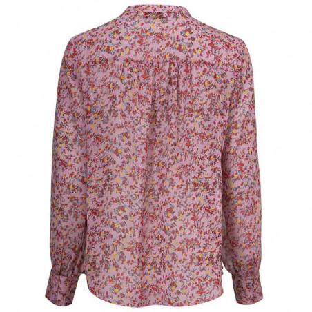 Modström Skjorte, Vogue, Winter Bloom, Modstrøm skjorte bagside