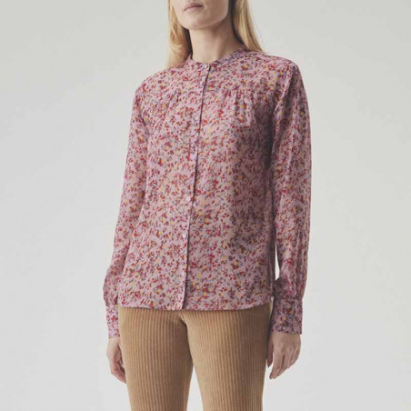 Modström Skjorte, Vogue, Winter Bloom, Modstrøm skjorte model