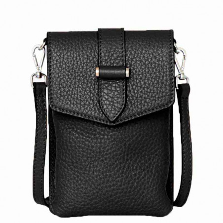 Decadent Taske, Gina Big Mobile Cross-over, Black, Decadent Copenhagen, Decadent Crossbody