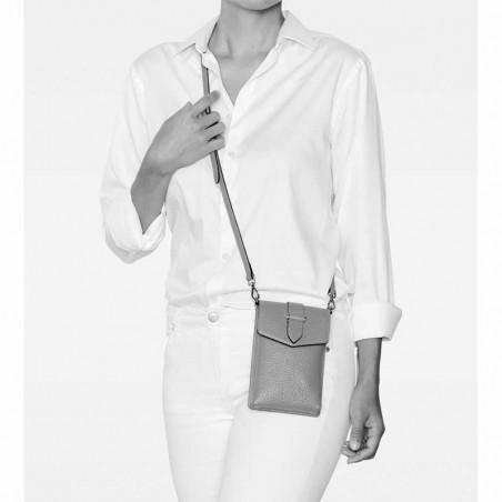 Decadent Taske, Gina Big Mobile Cross-over, Cognac, Decadent Copenhagen, Decadent Crossbody model