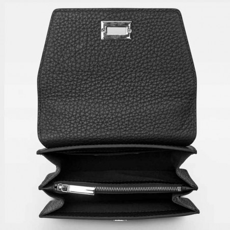 Decadent Taske, Shirley Cross-Over, Black, Decadent Copenhagen, Decadent Crossbody åben
