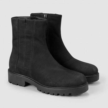 Vagabond Støvler dame, Kenova, Black Nubuck, vagabond, vagabond vinterstøvler par