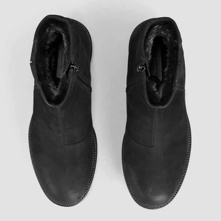 Vagabond Støvler dame, Kenova, Black Nubuck, vagabond, vagabond vinterstøvler top